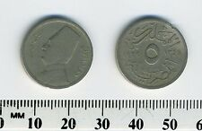 Egypt 1929  (1348) - 5 Milliemes Copper-Nickel Coin - King Fuad I