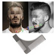Metallo Pettine Barba Regolatore Modellante Baffi Taglia La Barba Con Tuo Stile