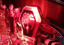 MONSTER BASH Pinball Interactive Red Flashing COFFIN Light Mod MB