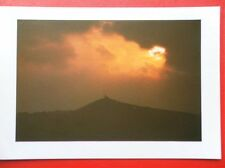 POSTCARD CORNWALL BRENT TOR ON THE SUMMIT STANDS CHURCH OF ST MICHAEL