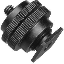 Pearstone Accessory Shoe Adapter with 1/4-20 Stud Connector