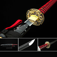 Dragon Katana,Handmade Full Tang High Carbon Steel Real Japanese Samurai Sword