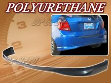 FOR 07-08 HONDA FIT TYPE-R STYLE REAR BUMPER LIP BODY SPOILER KIT POLY URETHANE