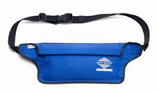 Aqua Quest AquaRoo -  100% Waterproof Money Belt, Waist Bag, Fanny Pack - Blue