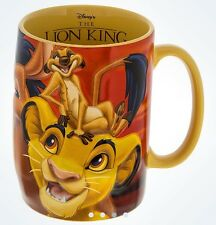 DISNEY PARKS AUTHENTIC THE LION KING MUG TEA CUP SIMBA PUMBA TIMON NEW