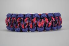 550 Paracord Survival Bracelet Cobra Purple/Candy Snake Camping Tactical