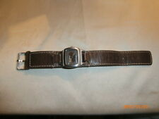 Buffalo David Bitton Leather & Steel Rustic Ladies Watch