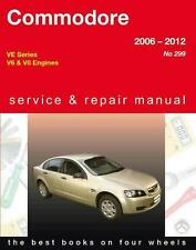 GREGORYS WORKSHOP SERVICE REPAIR MANUAL BOOK HOLDEN COMMODORE VE 2006-2012
