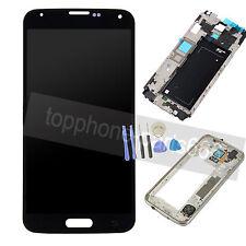 Pantalla Tactil LCD Digitalizador + Marco Para Samsung Galaxy S5 G900f Negro
