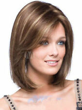 New sexy Women's ladies short Mix Natural Hair full wigs+ wig cap