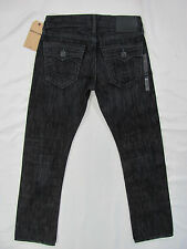 True Religion Ricky Relaxed Straight Big T Jeans Baseball Stitch -Size 30- $328