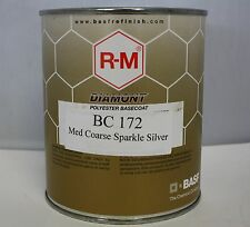 RM Diamont BC172 Med Coarse Sparkle Silver mixing base toner Paint Toner tinting