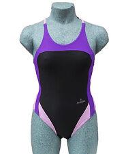 ACCLAIM Rio Ladies Girls Racer Back Swimming Costume Swim Suit 20% Lycra 2016