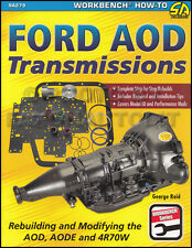 How to Rebuild and Modify Ford AOD AODE 4R70W Automatic Transmission 1980-2004