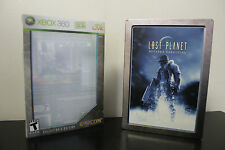 Lost Planet: Extreme Condition -- Collector's Edition  (Xbox 360, 2007) Steel Bk