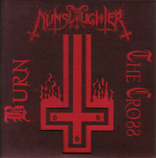 "Nunslaughter - Burn The Cross 7"" LP Black Death Metal Bathory Venom - NEW COPY"