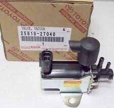 GENUINE TOYOTA RAV-4 TURBO BOOST PRESSURE SENSOR VACUUM VALVE 25819-27040 OEM
