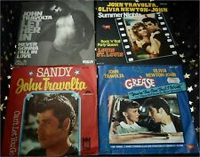 JOHN TRAVOLTA * 6 Sgl.ua. SANDY * SUMMER NIGHTS * LET HER IN * GREASED LIGHTNIN´