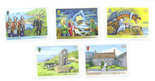 Guernsey Sark 450 years mnh set of 5 (22.7.2015)-Dragon-Military