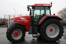 McCormick Tractor Workshop Manuals MTX Series