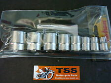 20-165 TRIUMPH BSA NORTON CEI 8PC SOCKET SET WHITWORTH KOKEN BRAND