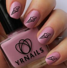 Nail WRAPS Nail Art Water Transfers Decals - Ice Cream Cone - S302