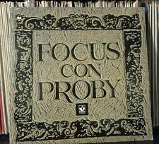 FOCUS Con Proby prog art rock MINT- US press punch hole c Lp