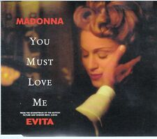 CD 3 T MAXI MADONNA *YOU MUST LOVE ME*