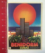 Aufkleber/Sticker: Benidorm - España (190316165)