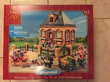 PLAYMOBIL 5955 FAO SCHWARZ VICTORIAN CITY LIFE HOUSE MANSION NEW IN BOX