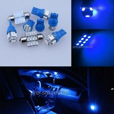 16PCS Blue LED Interior Light Package For Chevy Silverado GMC Sierra 95-98