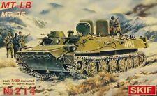 MT-LB SOVIET APC (POLISH, CZECHOSLOVAK, GERMAN, FINNISH & IRAQI MKGS) 1/35 SKIF