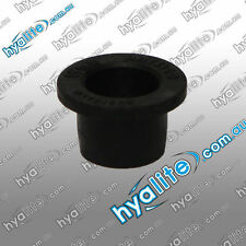 10 X 19mm - RUBBER TOP HAT GROMMET - PLUMBING FITTING