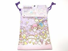 Little Twin Stars Kiki Lala Pouch Cosmetic Pouch Portable Carry Purse Sanrio