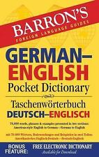 Barron's German-English Pocket Dictionary: 70,000 words, phrases & examples pres