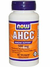 NOW Foods AHCC 500 mg - 60 vcaps HEALTHY NATURAL KILLER (NK) CELL FUNCTION