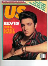 US MAGAZINE - 24 AUG 1987 - ELVIS PRESLEY THE LAST DAYS - KEVIN COSTNER