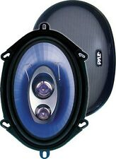 "Pyle PL573BL Speaker 5X7/6X8"" 3-Way Blue Label; 300Watts"