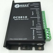 Leadshine DCS810 DC Servo Driver Brushed DSP Digital 18-80VD 0-20A for Motor CNC
