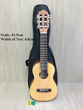Caraya 69CM Solid Spruce Top Tenor Size Guitarlele Natural Matt w/Free gig bag