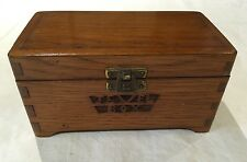 Antique Jewellery Box Wooden Possibly Arts And Crafts Era