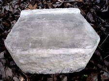 "retaining wall brick concrete mold 100 mil poly plastic 8"" x 6"" x 3.25"""