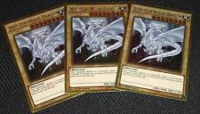 3x Blue-Eyes White Dragon MVP1-ENG55 Yugioh Card NEAR MINT