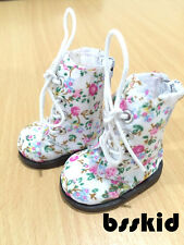 "NEW Y04 BJD Yo-SD 1/6 Dollfie 13"" Effner Floral White LITTLE DARLING Doll Boot"
