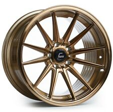 Cosmis R1 18x9.5/10.5 5x114.3mm +35/30 Bronze Wheels Fits Ford Mustang 350Z 370Z