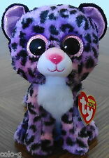 """Ty Beanie Boos Jewel the Leopard 6"""" Justice Exclusive MWMT"""