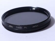 Lens Filter: Toshiba PL Polarizing 58mm JAPAN   - Free SHipping Worldwide