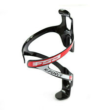 FSA K-Force Bike Carbon Bike Bicycle Cycling Water Bottle Cage - Black x Red