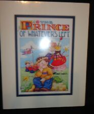 """MARY ENGELBREIT DOUBLE MAT PRINT """"THE PRINCE OF WHATEVER'S LEFT"""" - NEW"""