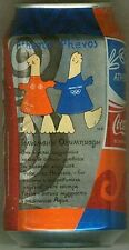 Full Can Russian Coca-Cola 2004 Athens Greece Olympic Mascot Russia